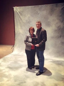 """Gareld Bilyew, our President, was awarded the """"Service Person of the Year"""" award in 2014 at IOGA."""